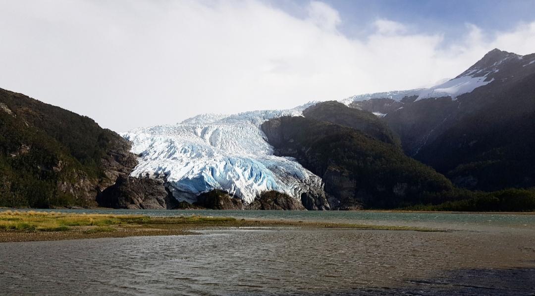 Aguila gletsjer Patagonië