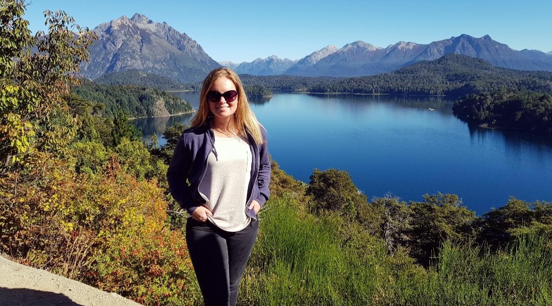 Lago Nahuel Huapi Patagonië