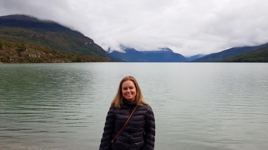 Lago Fagnano Patagonië