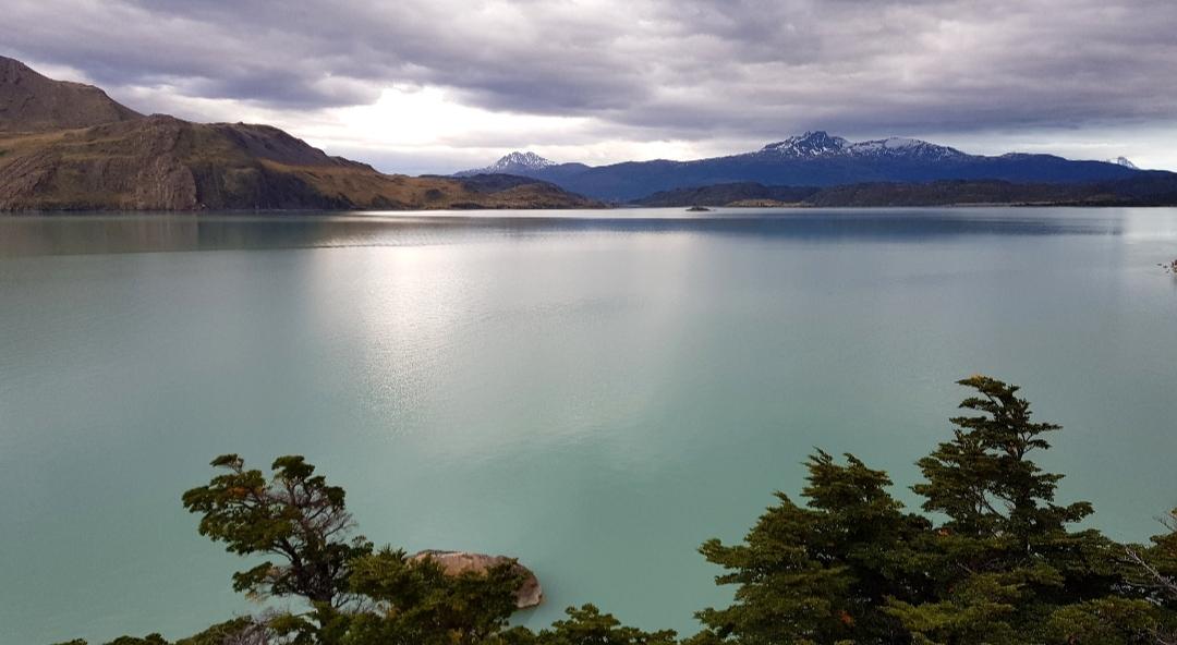 Lago Nordenskjöld Patagonië