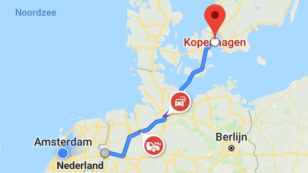 Kopenhagen autoroute