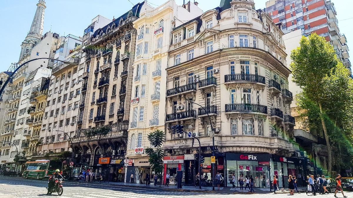 Avenida Santa Fé Buenos Aires
