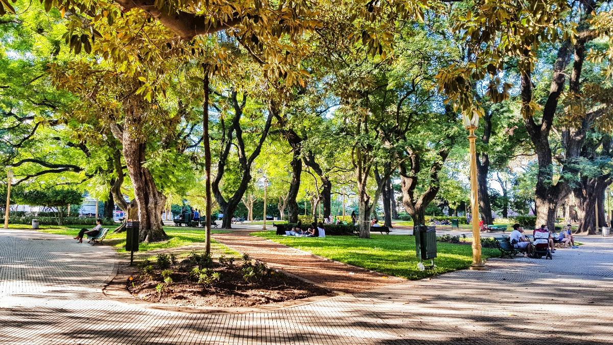 Buenos Aires Plaza San Martin