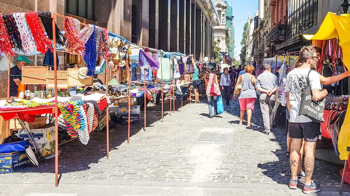 Buenos Aires bezienswaardigheden San Telmo
