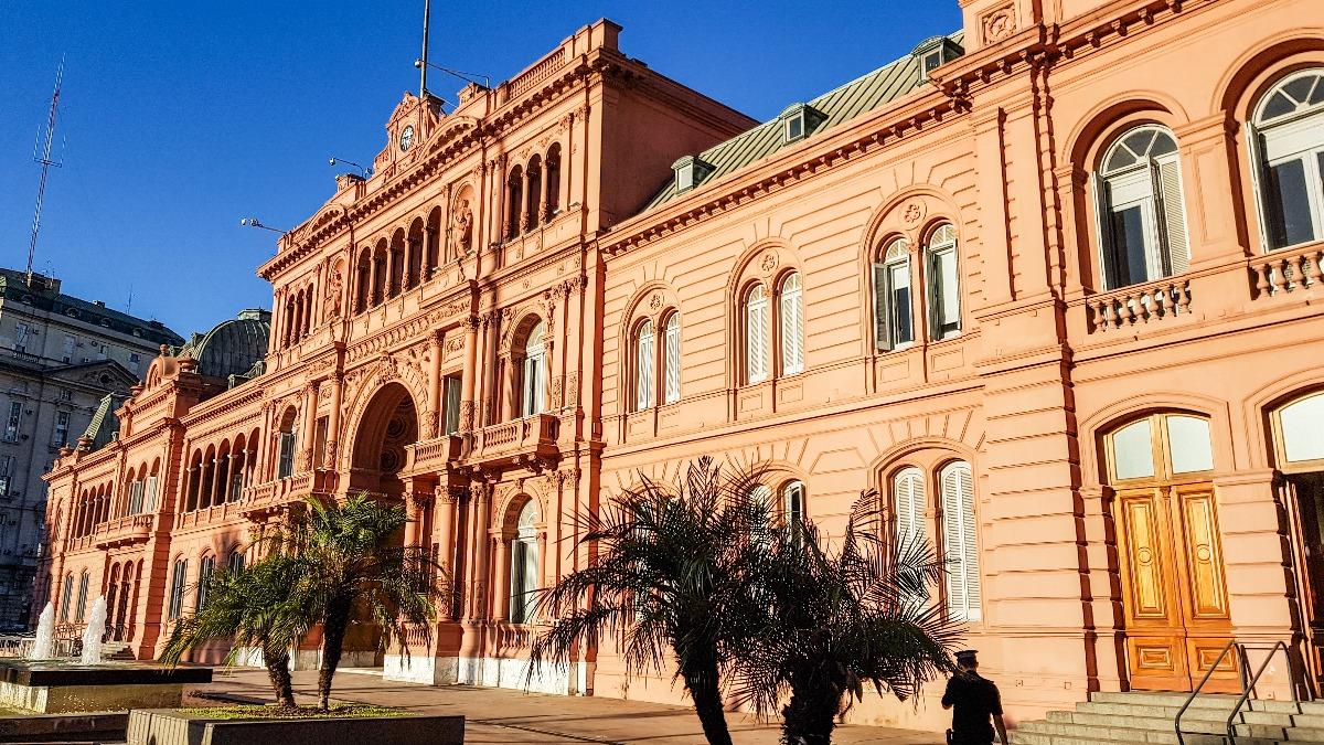 Buenos Aires bezienswaardigheden Casa Rosada