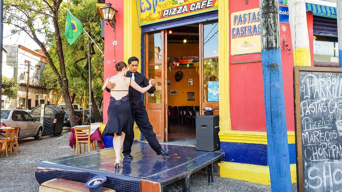 Buenos Aires bezienswaardigheden Tango