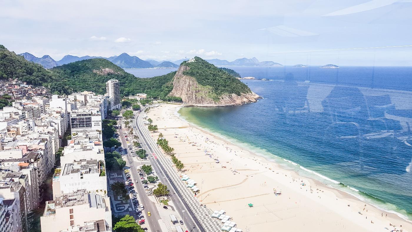 Rio de Janeiro bezienswaardigheden Copacabana