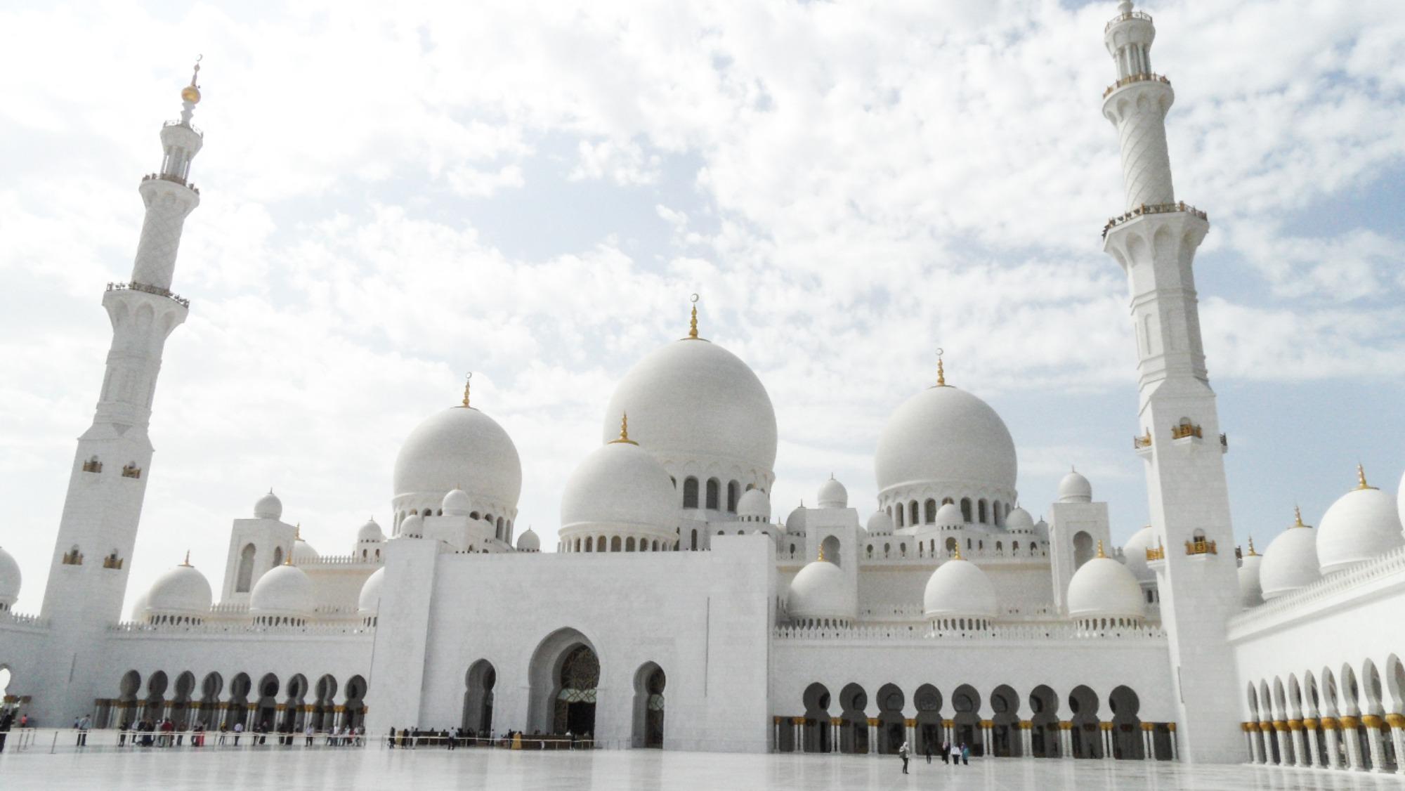 Sjeik Zayed Moskee Abu Dhabi