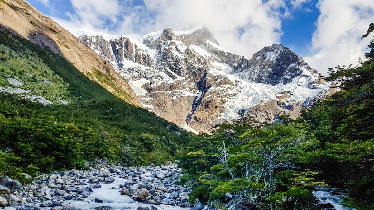 Gletsjer Frances Torres del Paine