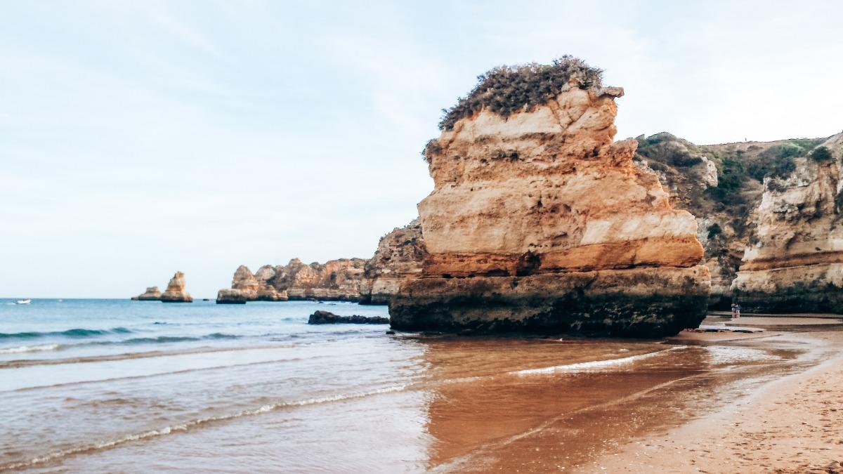 Algarve Praia Dona Ana
