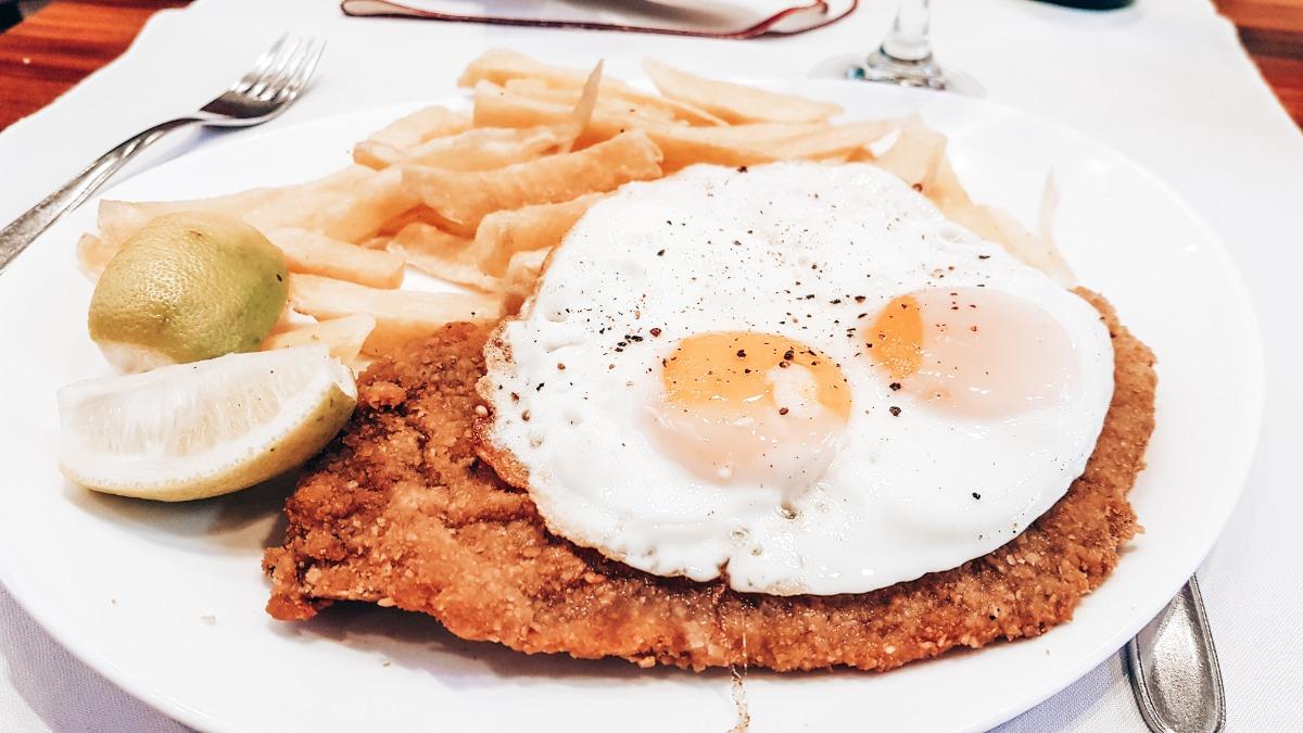 milanesa argentijns eten