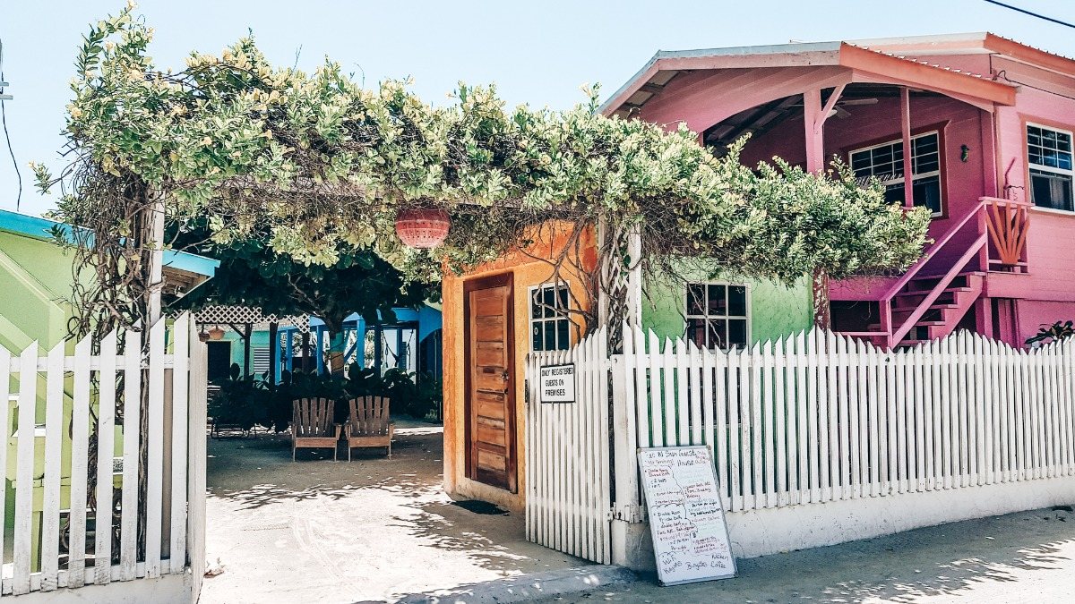 Caye Caulker Belize guesthouse