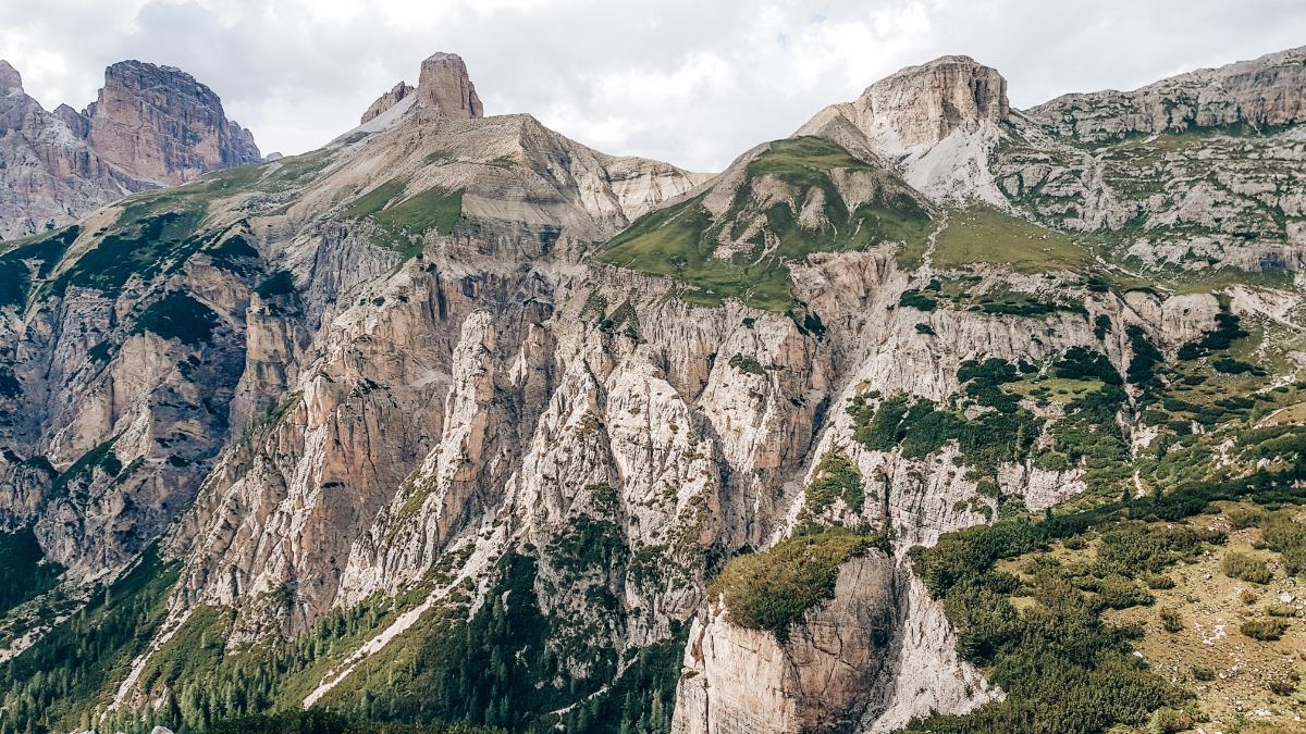 Omgeving Dolomieten