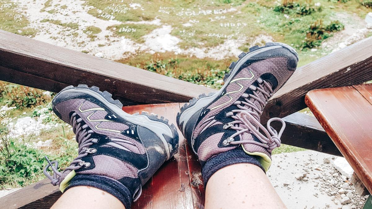 Uitrusten wandelen Dolomieten