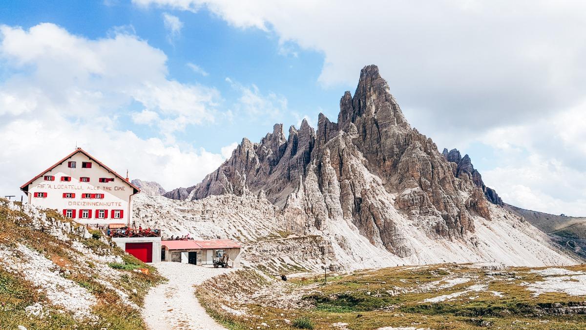 Dreizinnenhütte Dolomieten