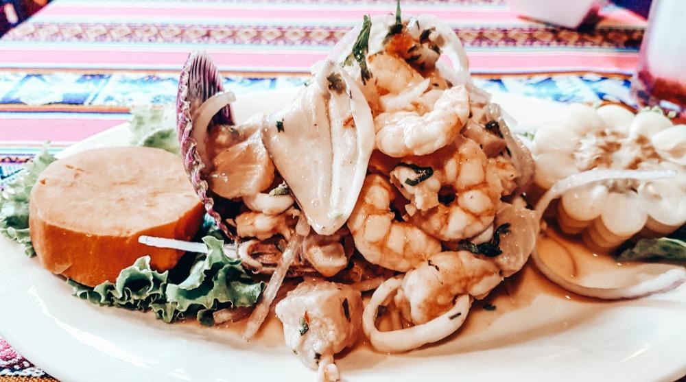 Eten en drinken Peru