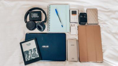 Gadgets op reis