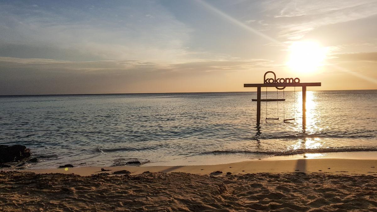Leukste strand Curaçao Kokomo
