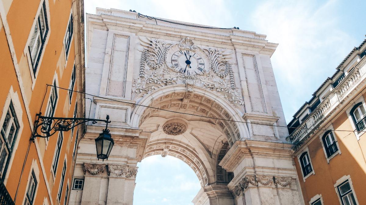 Triomfboog Lissabon