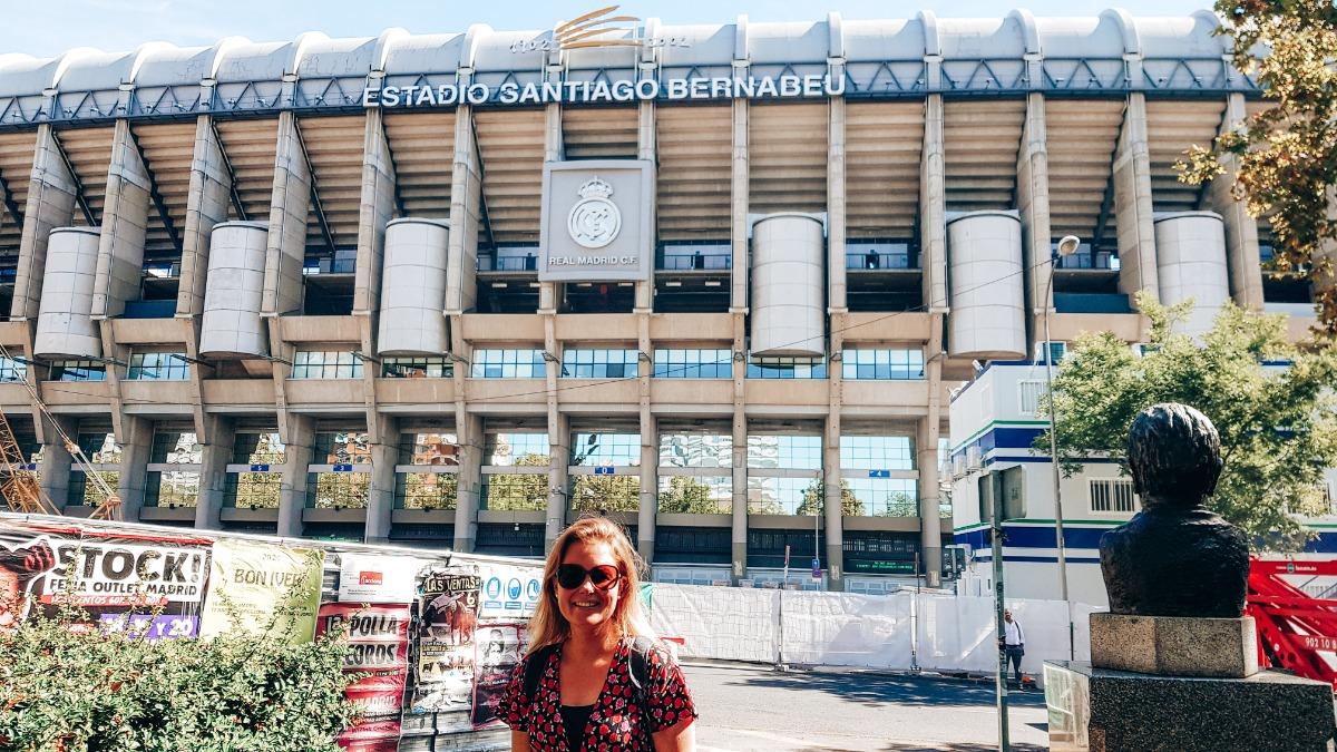 Stadion Bernabéu Madrid