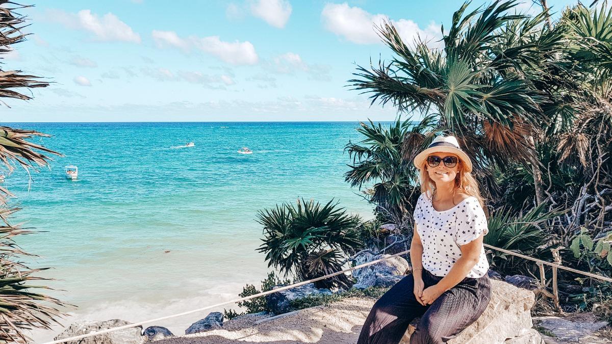 Tulum Mexico zeezicht