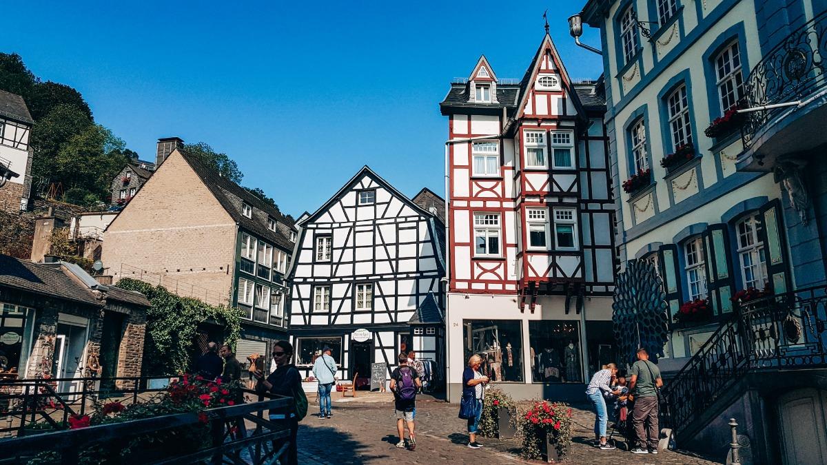 vakwerkhuizen Monschau
