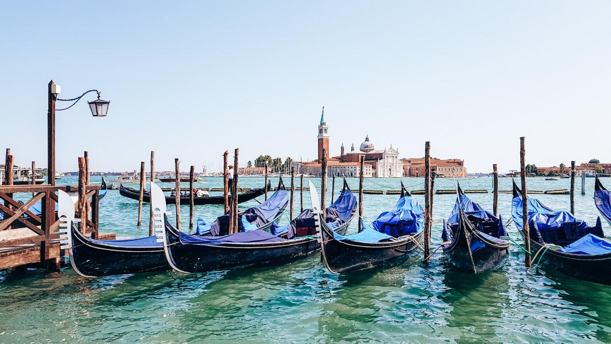 mooie Italiaanse stad Venetië