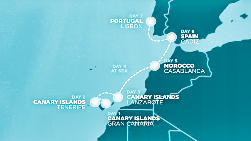 So exciting! Next trip: Nomad Cruise 8!
