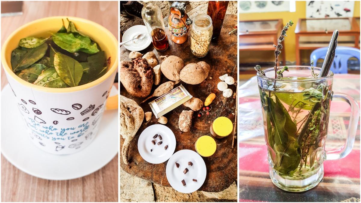 Peru koffie en cocathee