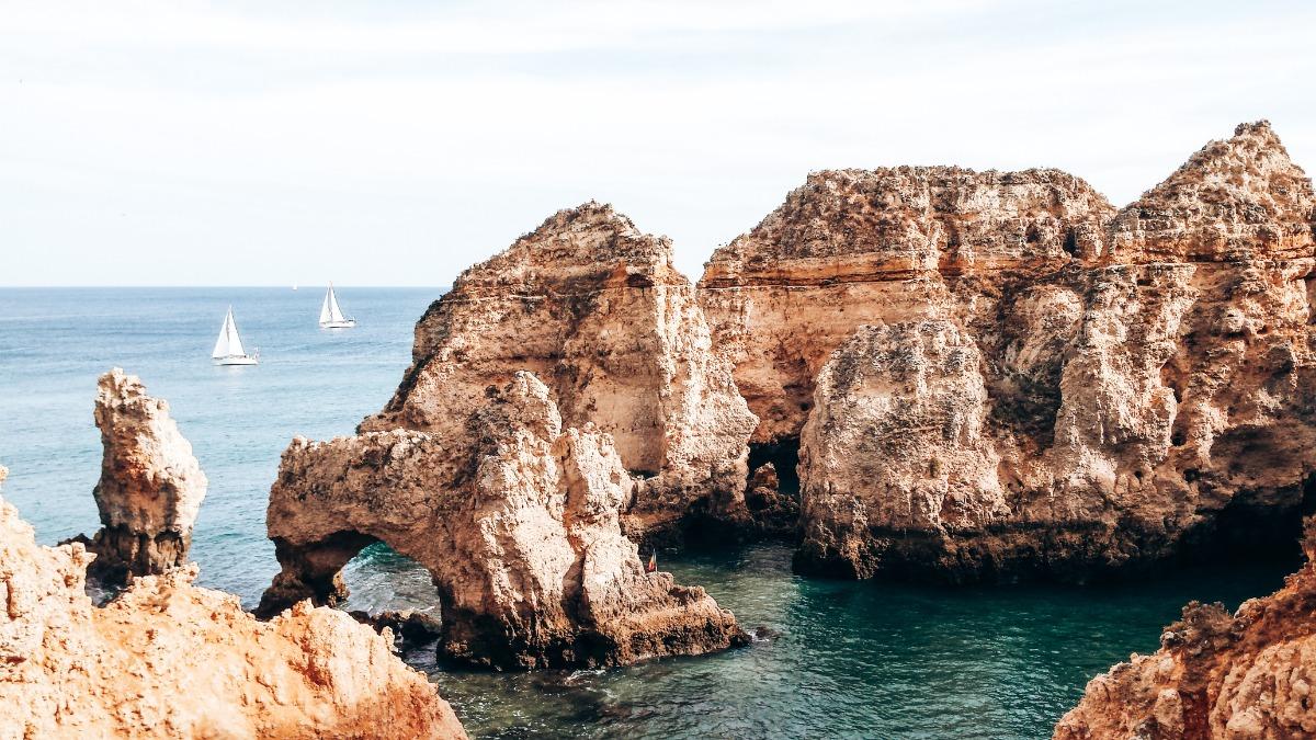 Prachtig Ponta da Piedade aan de Algarve in Portugal