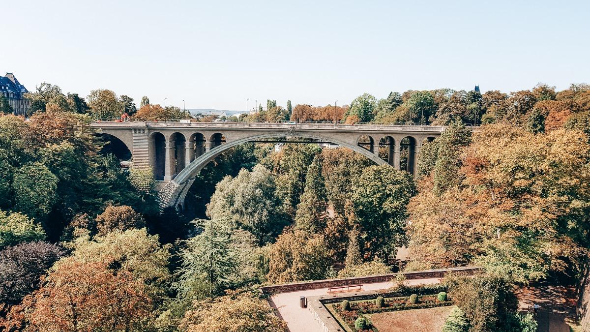 Luxemburg Pont Adolphe