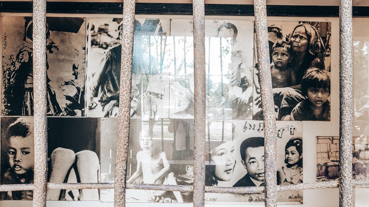 Killing Fields en Tuol Sleng Cambodja