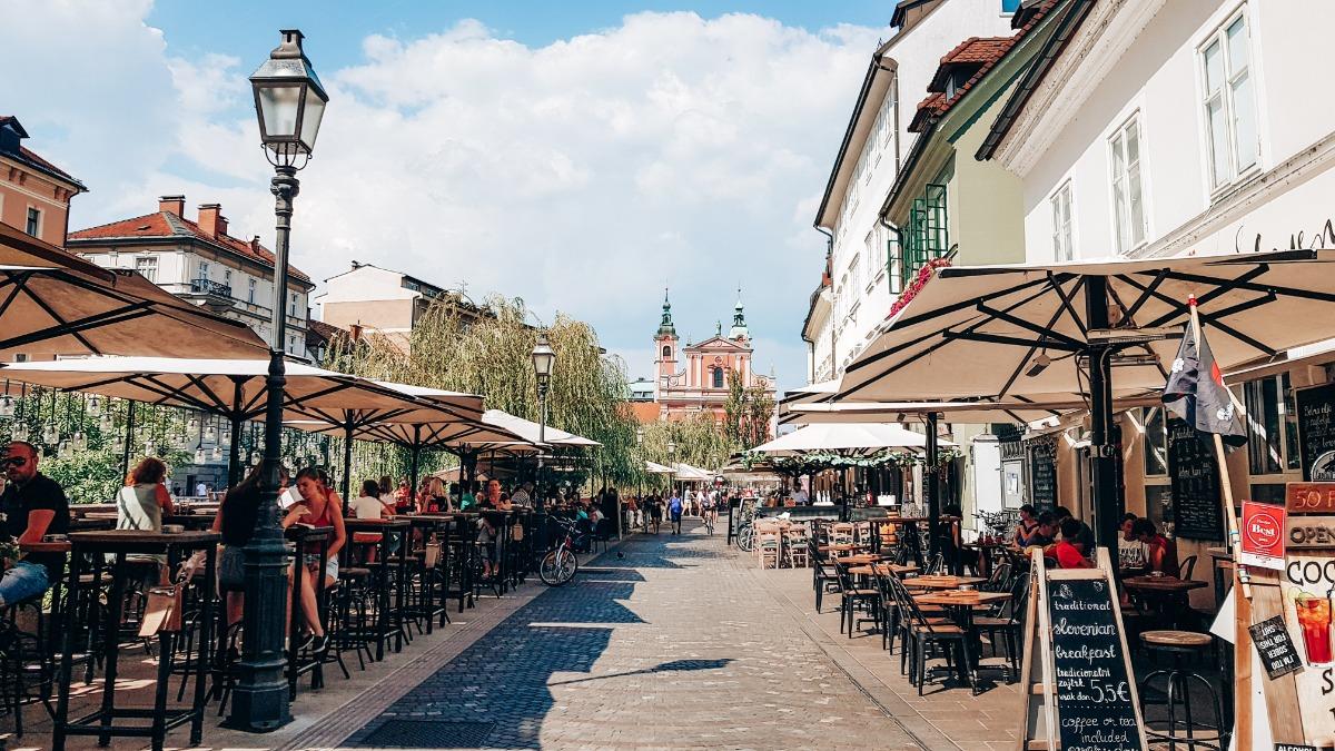 Ljubljana stedentrip Europa