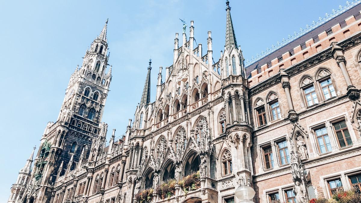 Stedentrip Europa München