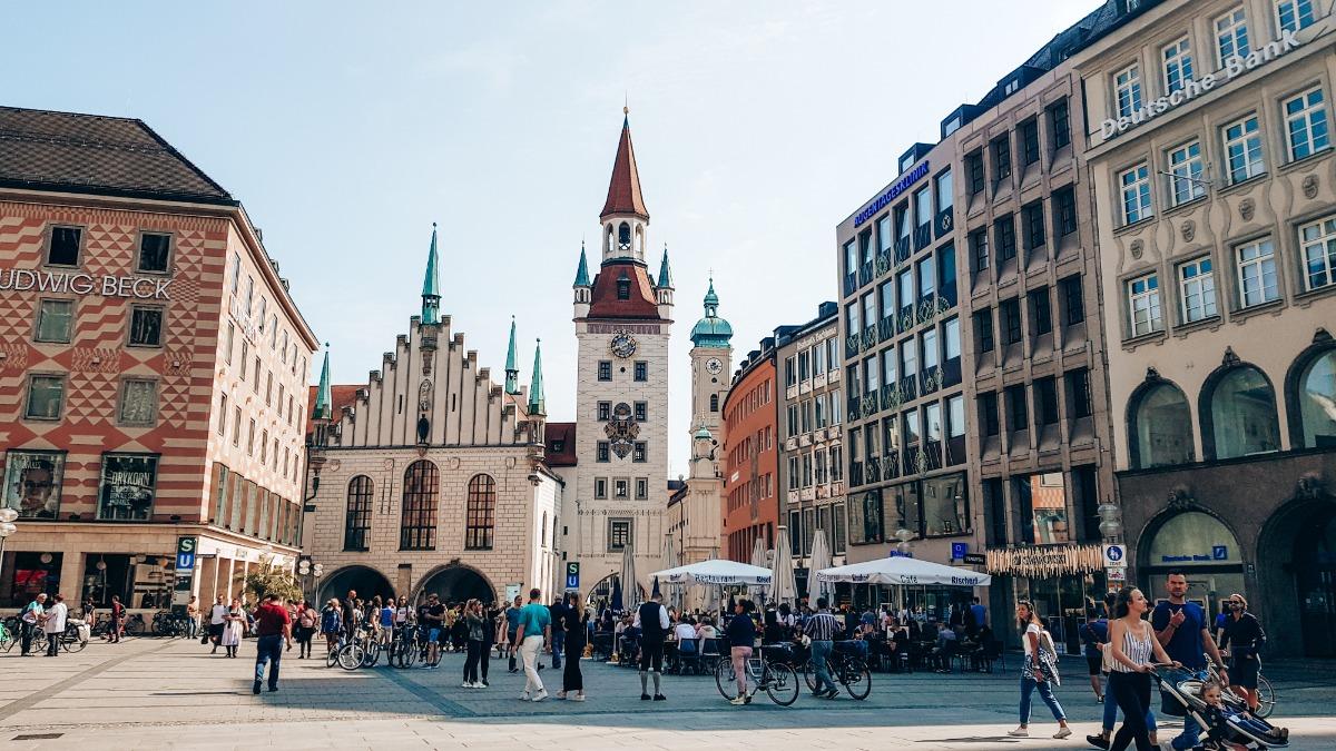 München stedentrip Europa