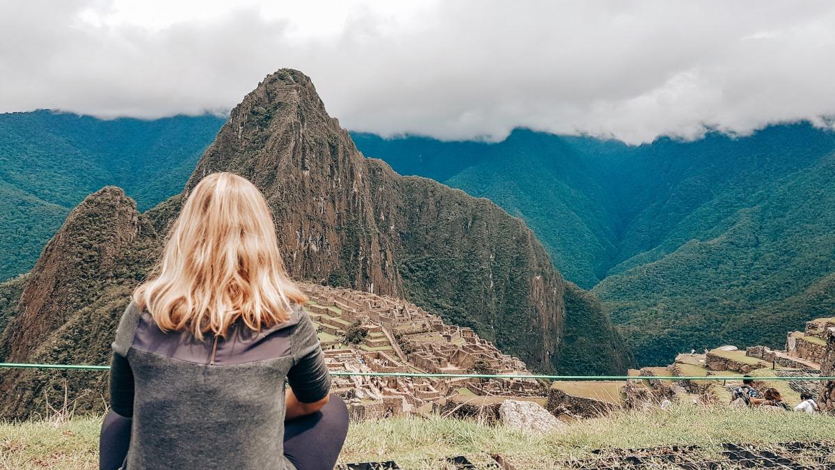 Solo reizen Machu Picchu