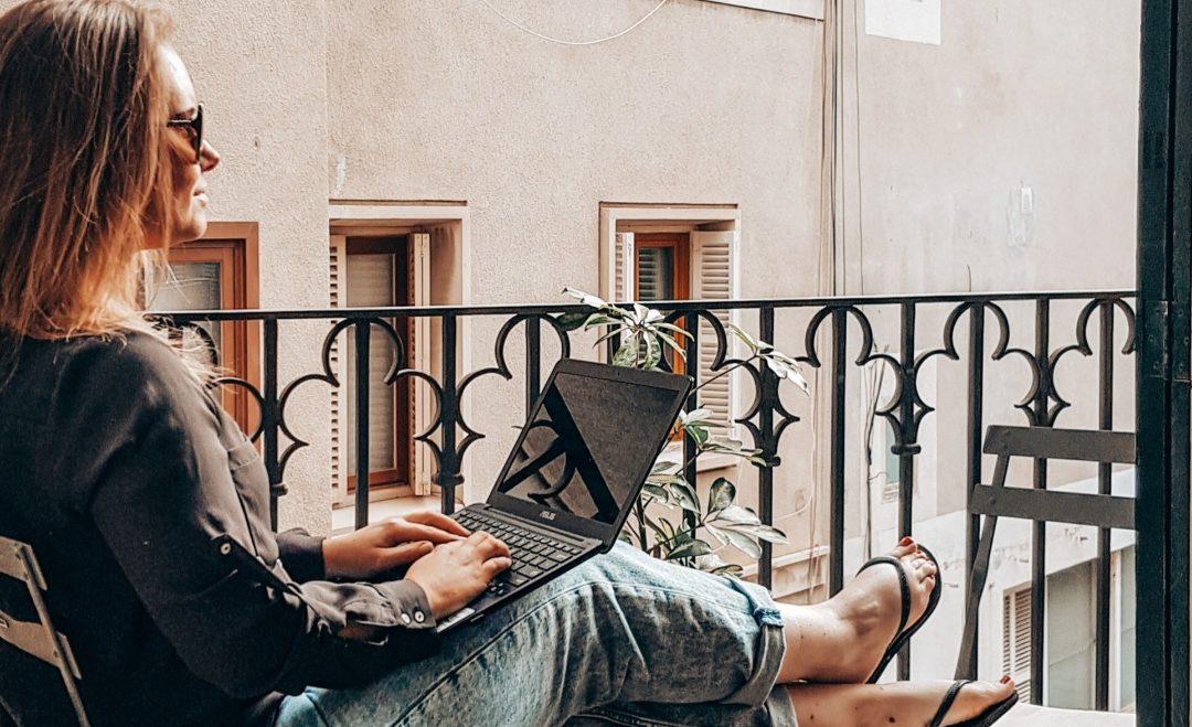 Online werken als digital nomad, maar wat dan?